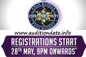 Kaun Banega Crorepati KBC 6 2012 Auditions Registration Online 1
