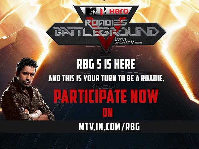 MTV Hero Roadies Battleground 5 Audition and participating Info 1