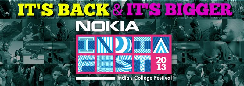 Nokia India Fest 2013 Registration Date Detail 1
