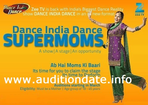 Dance India Dance Super Moms 2013 Audition