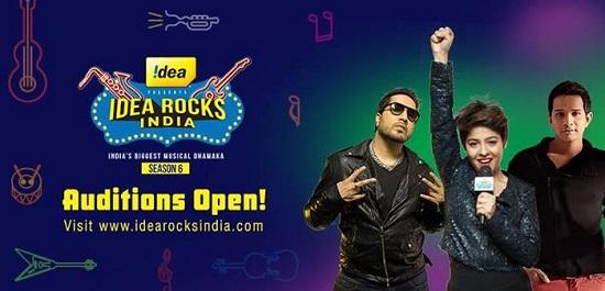 Idea Rock India 6 2014
