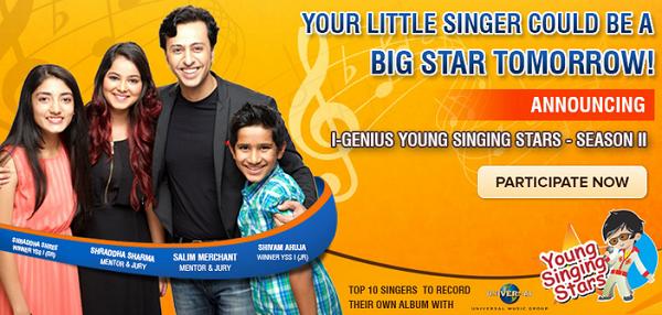 IGenius Young Singing Stars 2 2015