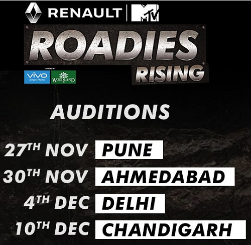 MTV Roadies X5 2016 Auditions