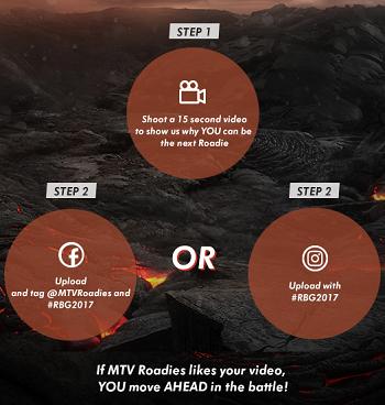 MTV Roadies Battleground 2017 Participation Registration Info 2
