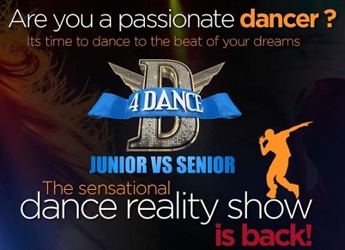 D4 Dance 2017 Junior VS Senior Audition & Registration - Mazhavil Manorama 1