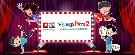 HDFC Life Youngstars 2 2017 Online Registration - Voot 1