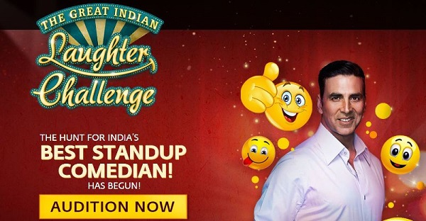 The Great Indian Laughter Challenge 2017 Audition Date 1