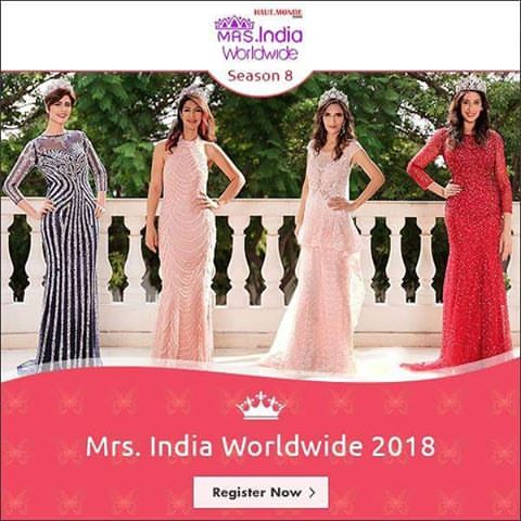 Mrs. India Worldwide 2018 Audition and Online Registration 1
