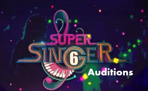 Star Vijay TV Super Singer 6 2017 Auditions Date, Registration 1