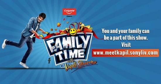Family Time With Kapil Sharma Online Registration & Participation Details 1