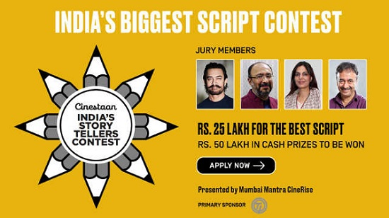India's story tellers script Contest 2018 - 2019 Registration & Audition 15