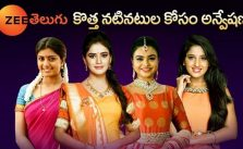 Zee Telugu Acting Carrier Audition for newcomers Registration and venue detail 17
