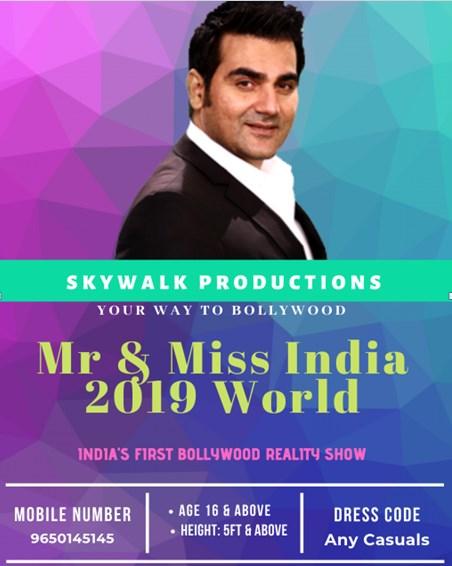 MR & MISS Fresh Faces Hunt Show 2019 Audition / Registration 1