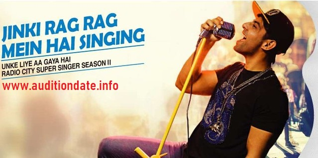 Radio City Super Singer 11 2019 Audition and online Registration