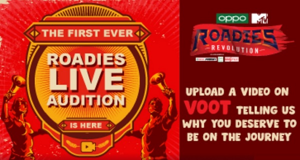 MTV Roadies 2020 Registration Live online Audition call for entry 1
