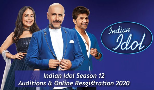 Sony TV Indian Idol - 12 2020 How Apply Online Registration 1