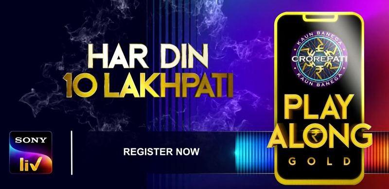KBC 12 2020 Play Along GOLD Har Din 10 Lakhpati SonyLIV App 1